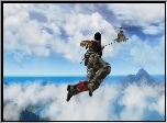 Just Cause 2, Chmury, Helikopter